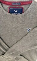 American Eagle Outfitters Mens Size L Thermal Gray LSleeve Shirt Vintage Fit