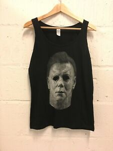 Michael Myers Halloween Tank top Ladies Vest Size L Never Worn John Carpenter