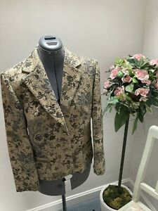 Ladies Gerry Weber 'Tapestry Style' Occasion Jacket Size 12