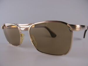 Vintage Marwitz Optima Gold Filled Sunglasses Men's Large Made in Germany