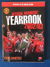 Manchester United - Official Members Yearbook 2002/03