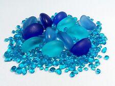 1/4 LB Beach Sea Glass Beads Tumbled Cultured Colors Jewelry Make Decor JCT Eco