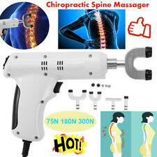 110-220v 4 Head Pro Chiropractic Tool Electric Spine Adjusting Corrector LY