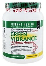 Vibrant Health - Green Vibrance Version 15.0 Daily Superfood - 35.27 oz.