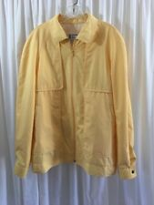 Men's Vintage London Fog Lightweight Jacket 42L Yellow 60's 70's