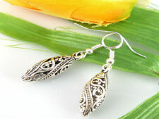 Wholesale Lady 1Pair Charm Fashion Jewelry Silver Round Earrings NEW