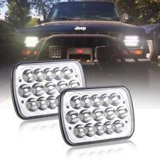 Fits GMC Savana 1500 3500 2500 Safari Isuzu LED Pro Headlights Sealed Hi/Lo Beam