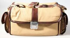 LARGE TAN   BROWN CAMERA GADGET BAG