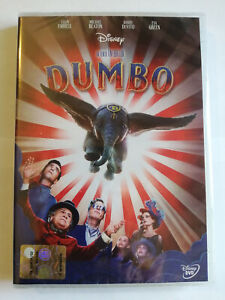 DUMBO (2019) DVD DISNEY SIGILLATO Tim Burton Colin Farrell M. Keaton De Vito