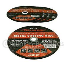 "5 x 9 "" 230mm Amoladora Angular molienda Cortador delgada plana Corte De Metal Blade Discos"