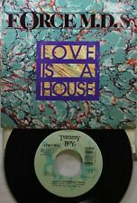 Soul Picture Sleeve 45 Force Mds - Love Is A House / Love Is A House On Tommy Bo