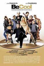 BE COOL 27x40 Original Movie Poster One Sheet 2005 John Travolta, The Rock
