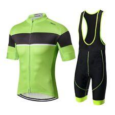 Verde Nuevos Hombres Ciclismo Jersey Sport Bike Ropa Corta Conjunto  Bicicletas