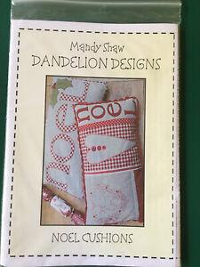 Mandy Shaw Dandelion Designs Noel Cushion Pattern