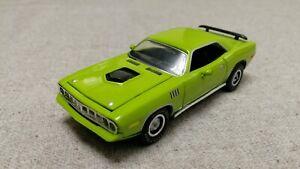 Plymouth Cuda  lime 1971 (ERTL) !!!RARE COLOR!!!