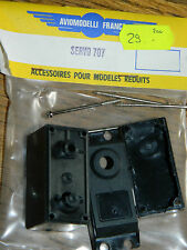 VINTAGE aviomodelli france SERVO 707 box MODELISME rc R/C parts