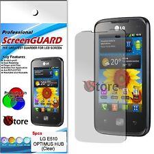 5 Pz PELLICOLA PROTEGGI SCHERMO LCD PER LG OPTIMUS HUB E510