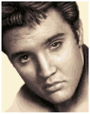 ELVIS PRESLEY - complete counted cross stitch kit