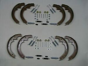 8 Brake Shoes w/ Adjusters & Hardware 56 57 Buick Special Super Century NEW