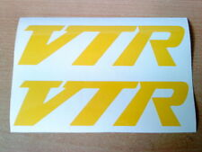 vtr racing x2 petrol tank,helmet,motorbike wings forks vinyl graphics sticker