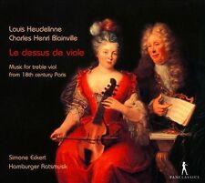 Le Dessus de Viole: Music for Treble Viol from 18th Century Paris (CD,...