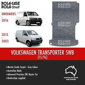 Volkswagen Transporter SWB - Genuine Flooring Marine Grade Grey Carpet CNC Cut