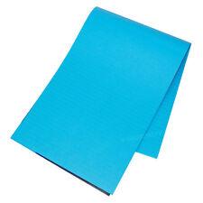 5 x A4 aiuto memoria Blu Brillante 100 pagine di carta BLOCCO NOTE MEMO Foderato Scrittura Pads
