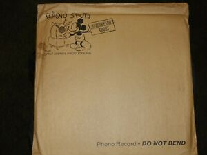 Disney Blackbeard's Ghost Radio Spots Phono Record Original Sealed Mailer