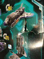 Takara Tomy Transformers Siege SG-47 Astrotrain SCATOLA DANNEGGIATA