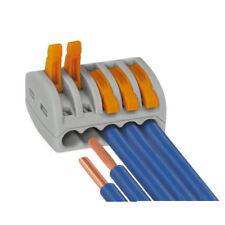 WAGO 222-415 5-Way Levier Réutilisable connecteur 32 A-Pack de 40
