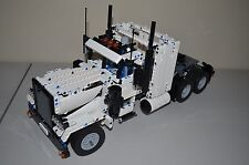 NEW LEGO TECHNIC WHITE 8285 CUSTOM TRUCK 18-1/2 inches long