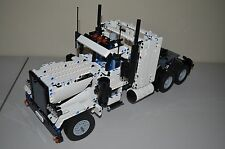 NEW LEGO TECHNIC WHITE 8285 CUSTOM TRUCK 18-1/2 inches long