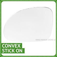 Left hand passenger side for VW Golf mk5 2003-2008 wing mirror glass