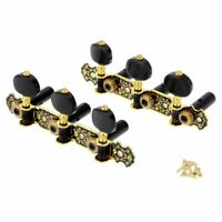 Classic Guitar Tuning Pegs Machine Heads String Gold Keys Tuners Set Accessories