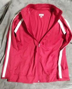 Red Girls Large Augusta Sportswear Jacket