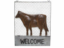 Metal Welcome Decorative Plaques & Signs
