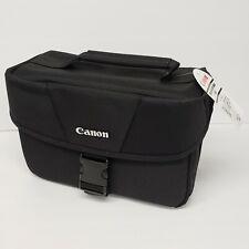 Canon EOS SLR Camera Shoulder Bag 10x7 Black 100ES NWT