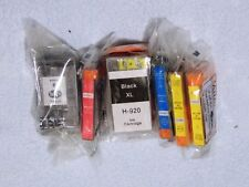HP 920XL Ink Cartridges(6) OfficeJet 7500A 6500 6500A 7000 With Chips NEW