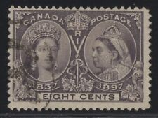 MOTON114   #56 Jubilee 8c Canada used  well centered