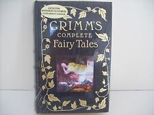 GRIMM'S Complete Fairy Tales, Genuine Bonded Leather with Ribbon Marker, SEALED
