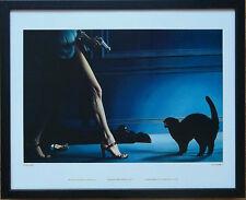 Fickle Heart - Paul Roberts - art deco thriller print, 20''x16'' frame
