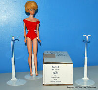 """1 Dozen 12 Kaiser 2201 WHITE 11.5""""-12.5"""" Barbie, MATTEL, JEM & Other DOLL STANDS"""