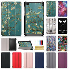 For Lenovo Tab E7 TB-7104F 7'' Folio Stand Magnetic Leather Patterned Case Cover