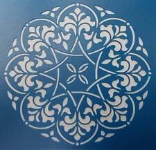 Scrapbooking - STENCILS TEMPLATES MASKS SHEET - Doily 01 Stencil