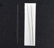 wholesale Hot Big Eye Curved Beading Needles Easy Thread 125x0.6mm