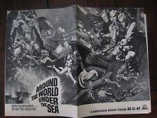 original PRESSBOOK..'' Around the World Under the Sea  ! ''