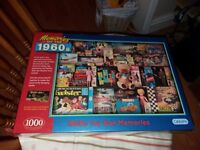 Gibsons 1960s Toy Box Memories 1000 Piece Jigsaw Puzzle NEW SEALED