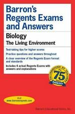 Barron's Regents Exams and Answers : Biology 2000-2001