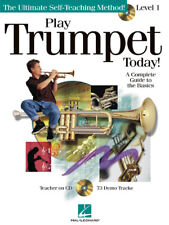 Play Trumpet Today 1 Learn for Beginner Music Lessons Hal Leonard Book Cd Pack