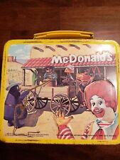 Vintage McDonald's metal lunch box